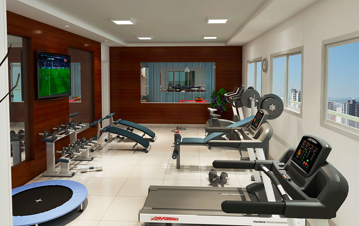Flora Apartments - Fitness